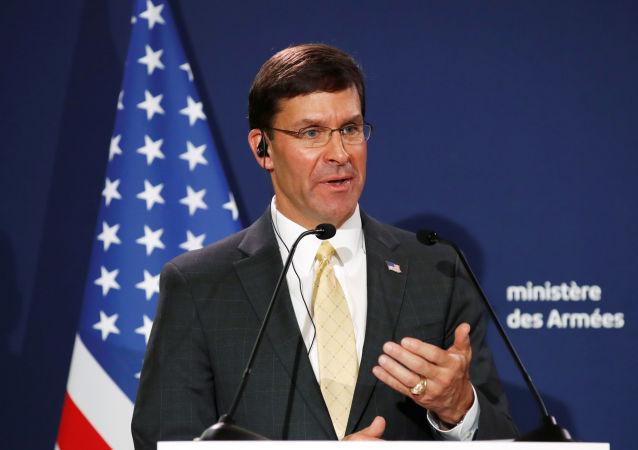 El secretario de Defensa de EEUU, Mark Esper