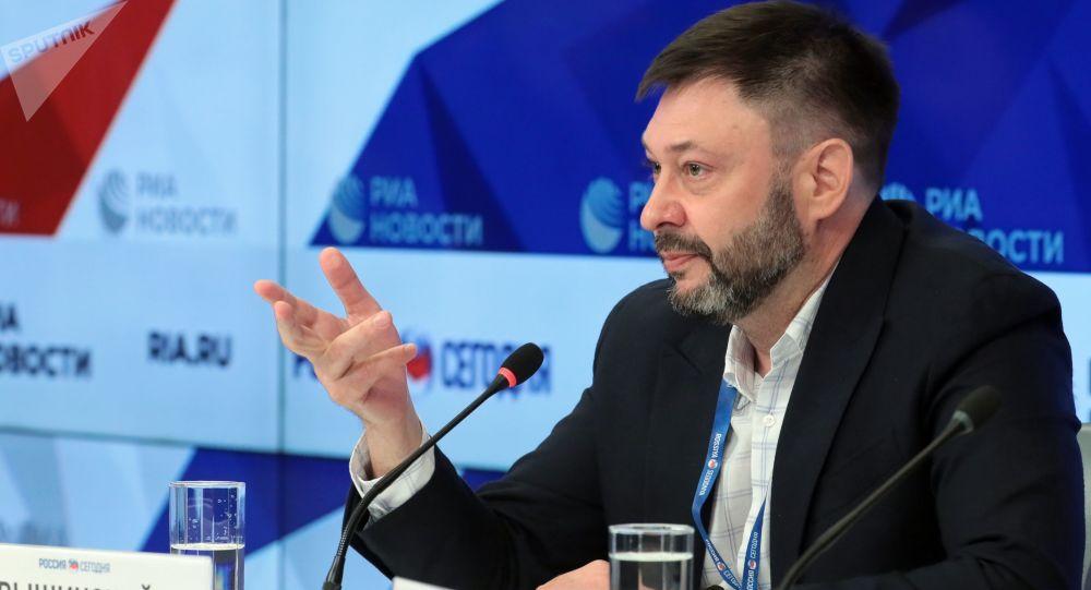El jefe del portal RIA Novosti Ukraina, Kiril Vishinski