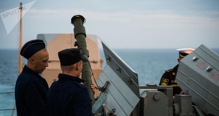 La corbeta portamisiles Orekhovo-Zuyevo