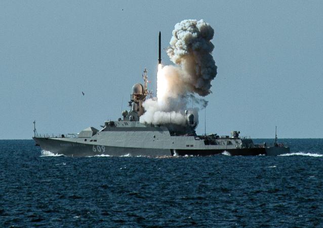 Las maniobras de la Flota rusa del mar Negro