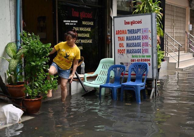 Inundaciones en Tailandia (archivo)