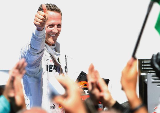 Michael Schumacher, piloto de Fórmula 1 (archivo)