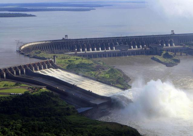 La represa de Itaipú