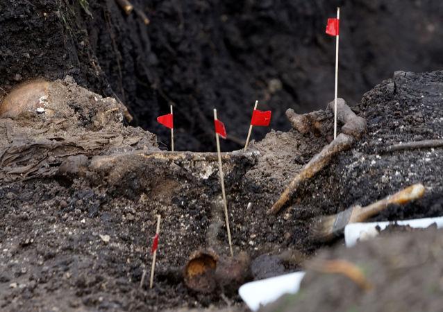 Los restos humanos, encontrados en el Batallón Militar 13 de la capital de Uruguay