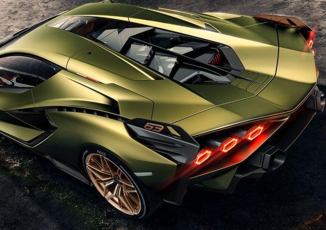 El Lamborghini Sián