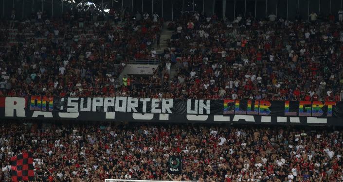 Canciones homofóbicas en el partido Niza vs. Marsella