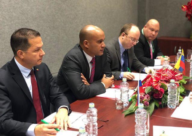 Héctor Rodríguez, gobernador del estado Miranda y miembro de la delegación gubernamental en las conversaciones