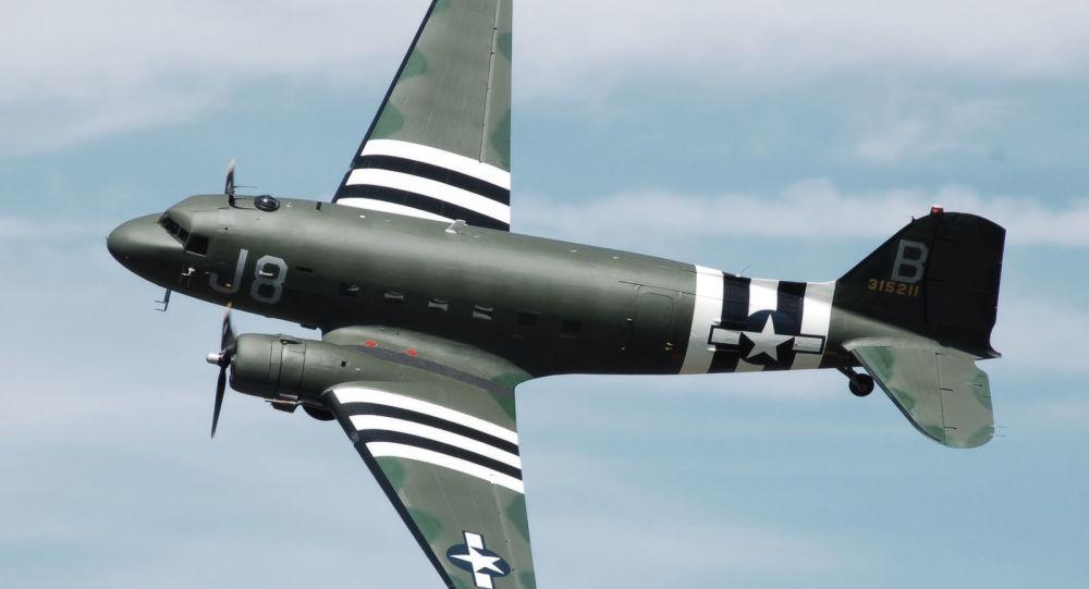 Avión Douglas C-47 (imagen referencial)