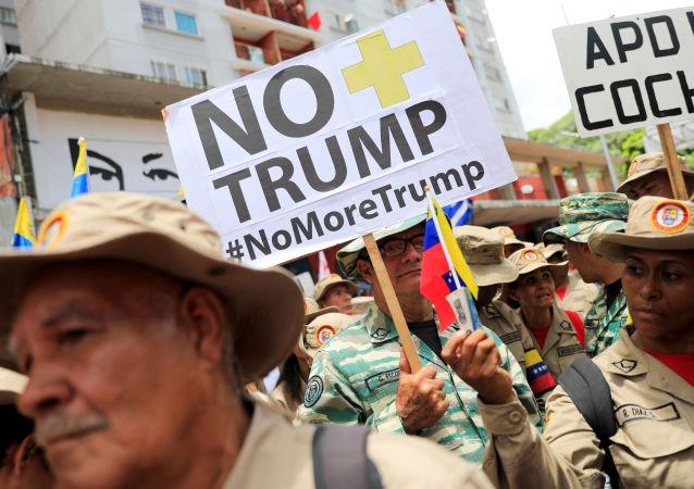La campaña 'No más Trump' en Venezuela