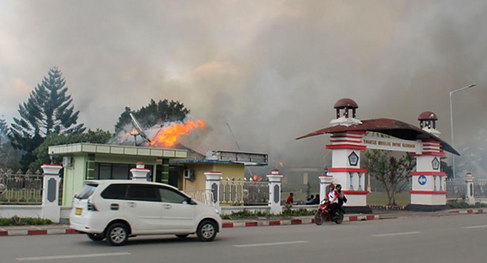 Protestas violentas en Wamena, Papúa