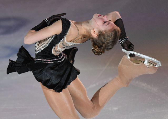La patinadora rusa Alexandra Trúsova