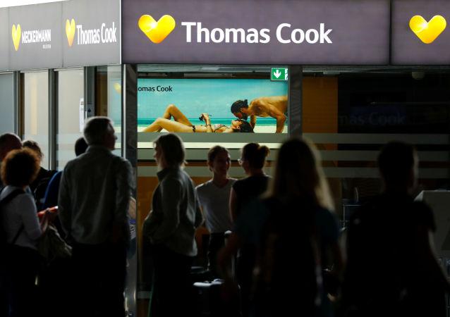 Los turistas de tras la quiebra de Thomas Cook