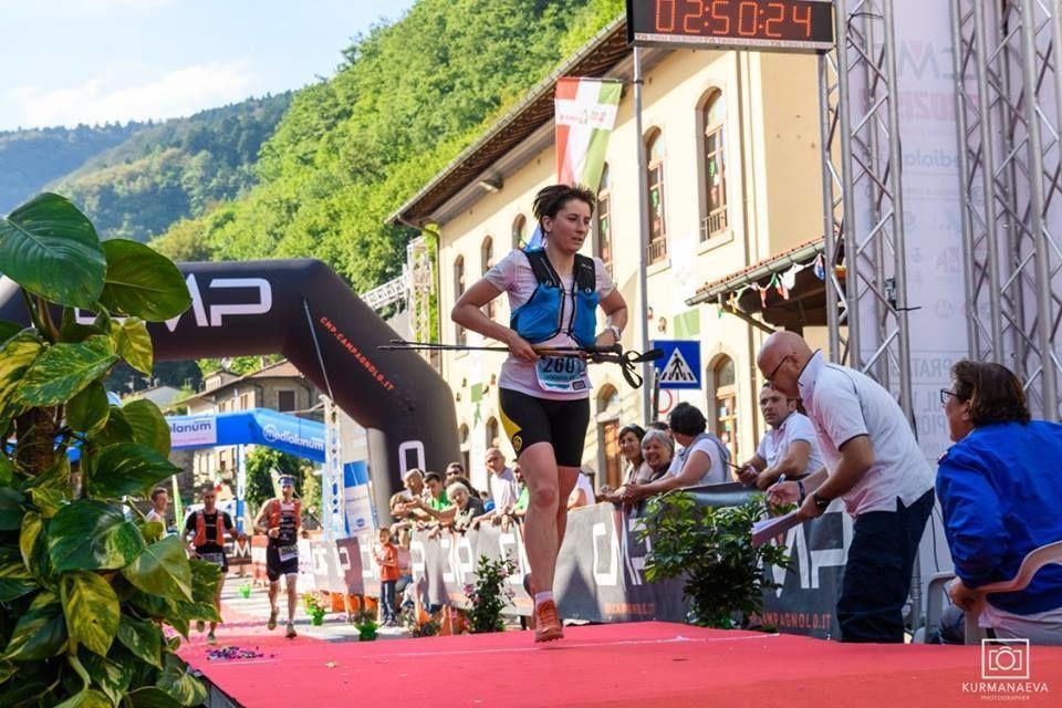 Irina Safronova, practicante de trail running y organizadora técnica de 'Elbrus Race'
