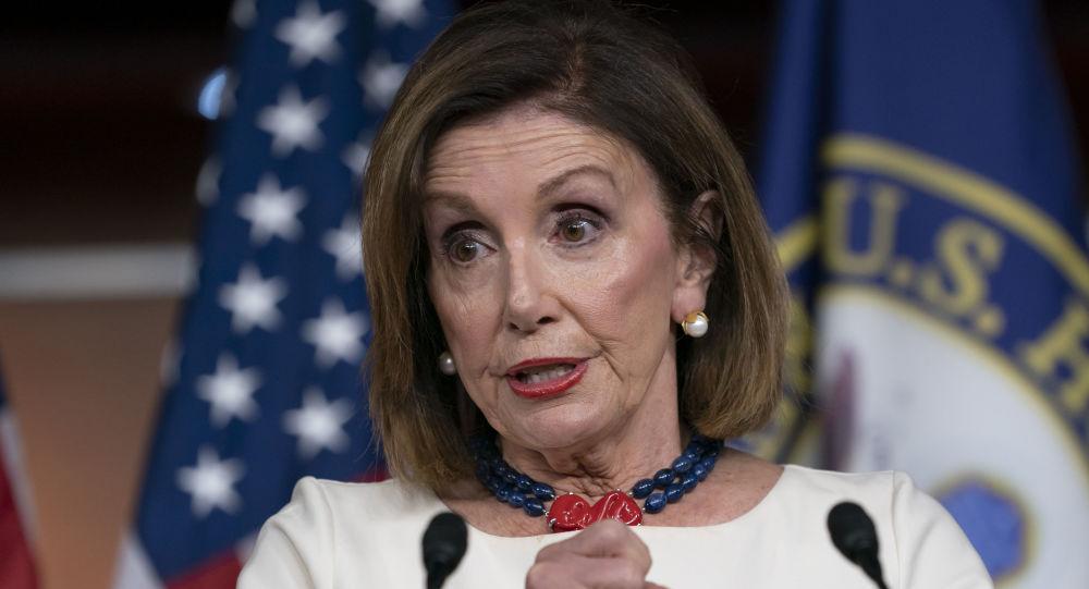 Nancy Pelosi, la presidenta de la Cámara de Representantes de EEUU (archivo)