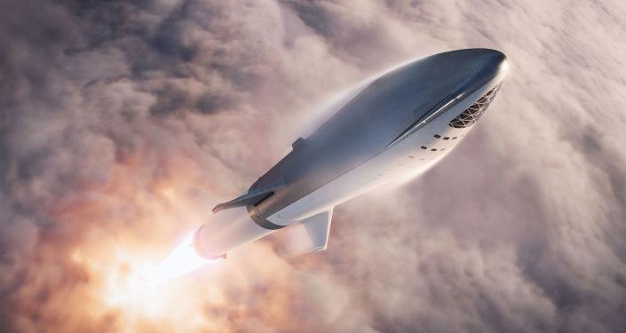 Cohete Falcon Super Heavy despega con la nave Starship