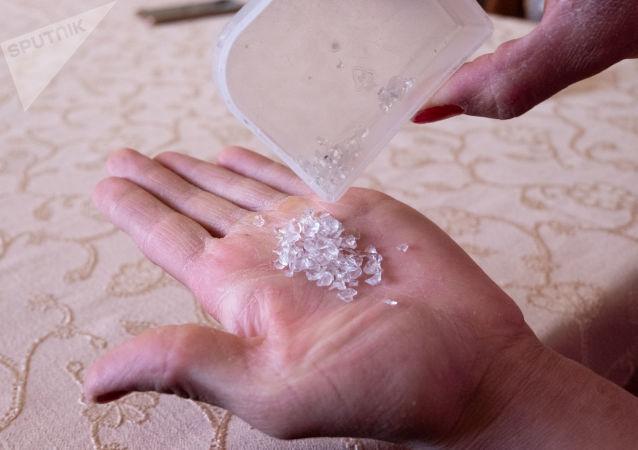 Los cristales que cayeron de los ojos de Satenik Kazarián