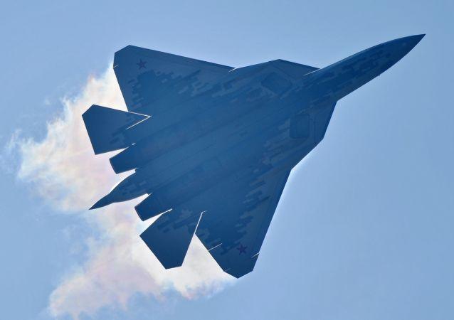 El caza de quinta generación ruso Su-57