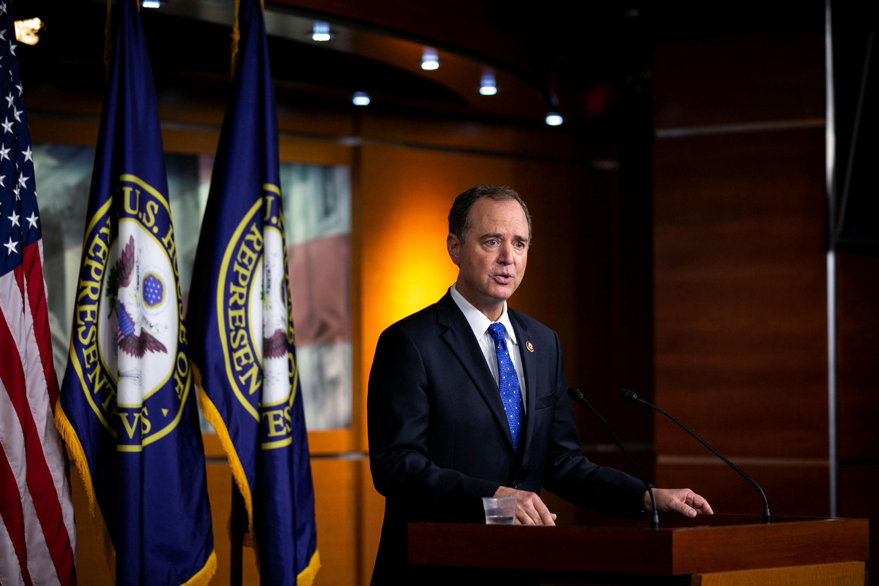 Adam Schiff, presidente del Comité de Inteligencia de la Cámara de Representantes de EEUU