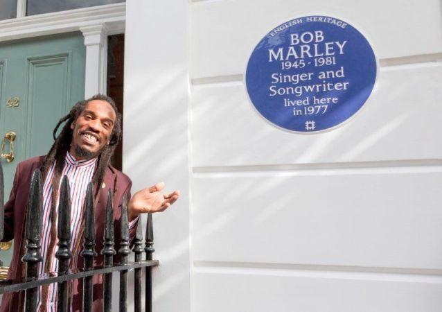 La casa de Bob Marley en Londres es marcada con la placa azul de la Herencia Inglesa