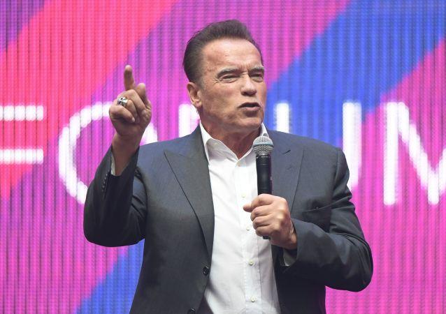 Arnold Schwarzenegger, el actor estadounidense