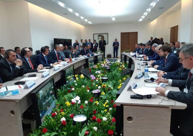 La reunión de la Comisión Intergubernamental de Alto Nivel Rusia-Venezuela en Caracas