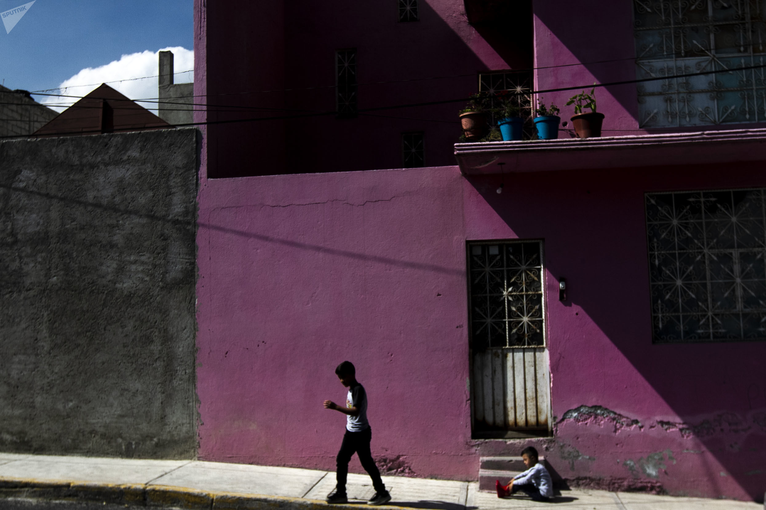 Colonia Vista Hermosa, primera parada de la caravana contra los feminicidios en Ecatepec, Estado de México