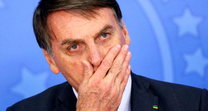 Jair Bolsonaro, el mandatario brasileño