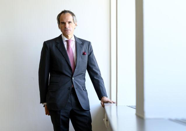 Rafael Grossi, nuevo director general del OIEA (archivo)