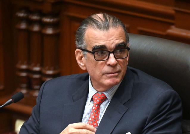 Pedro Olaechea, expresidente del Congreso de Perú