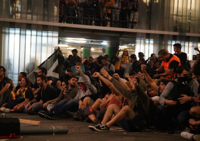 La situación en el Aeropuerto de Barcelona