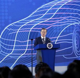 El presidente surcoreano, Moon Jae-in