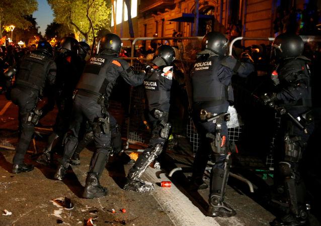La Policía catalana