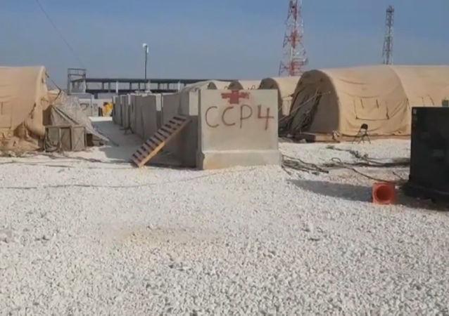 Así queda una base de EEUU en Siria tras ser abandonada