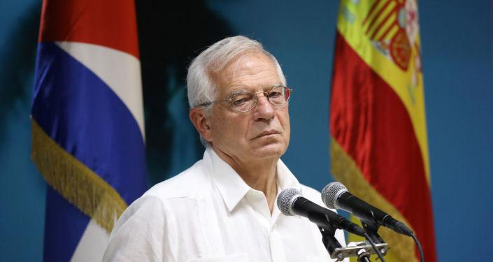 Josep Borrell, el ministro de Asuntos Exteriores de España de visita a Cuba