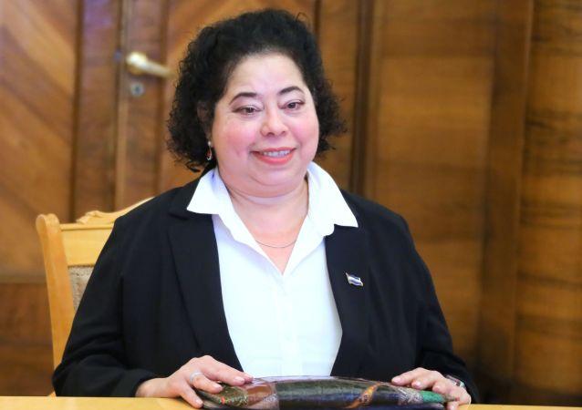 La embajadora de Nicaragua en Rusia, Alba Azucena Torres Mejía