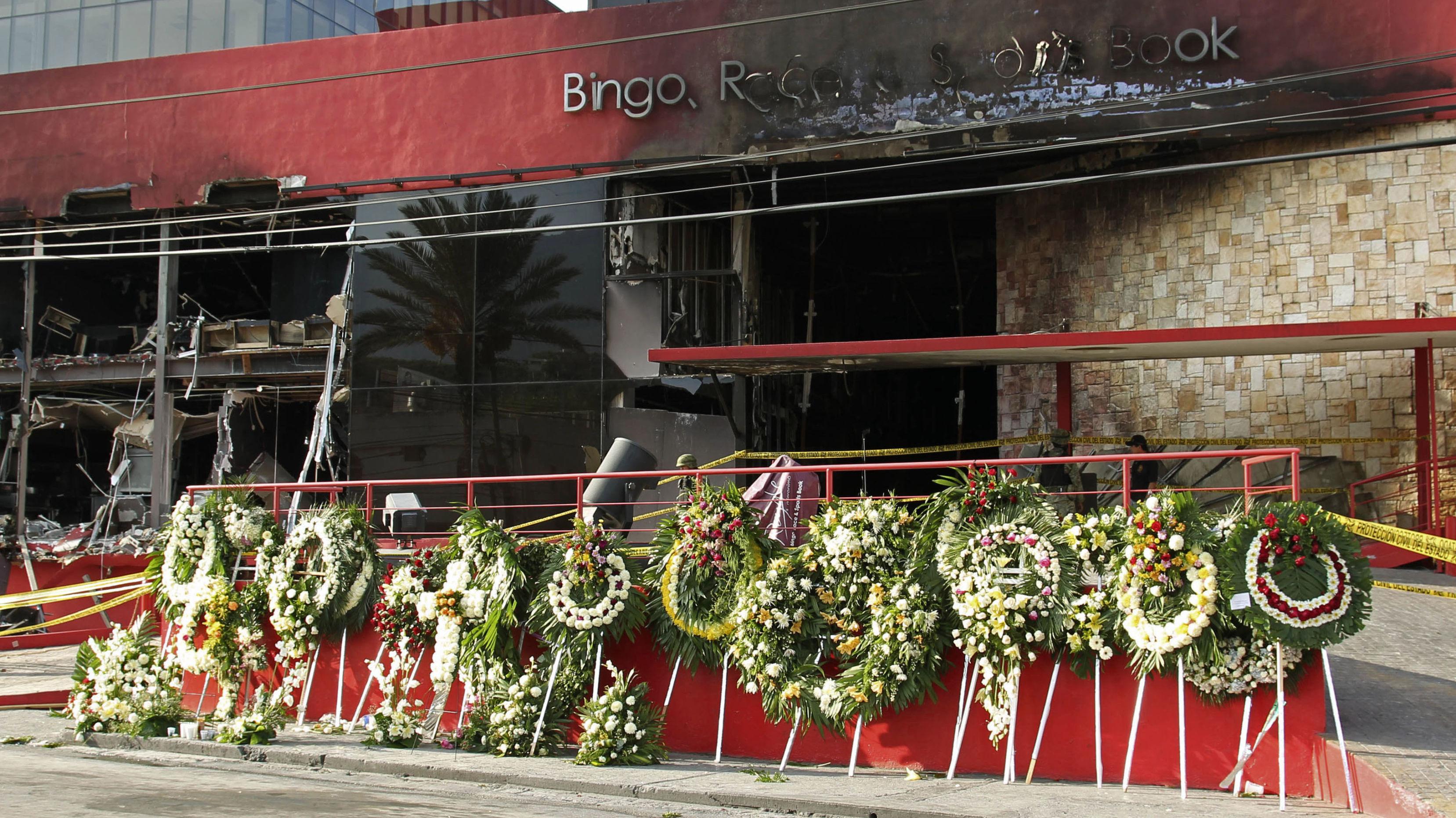 El Casino Royale en Monterrey (México), después del atentado