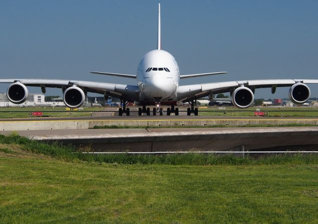 Un Airbus A380 (archivo)