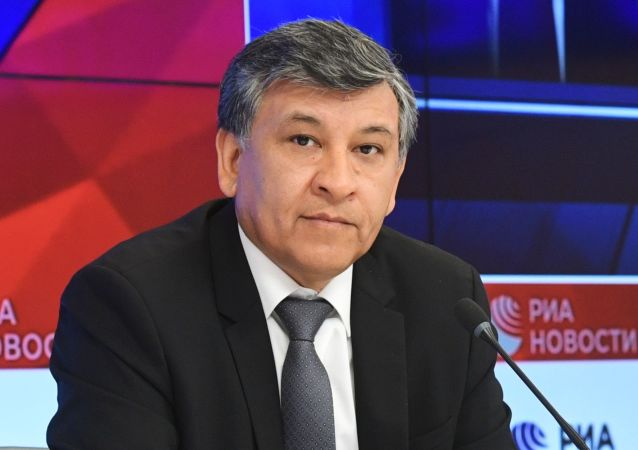 Hugo Villarroel Senzano, embajador de Bolivia en Rusia