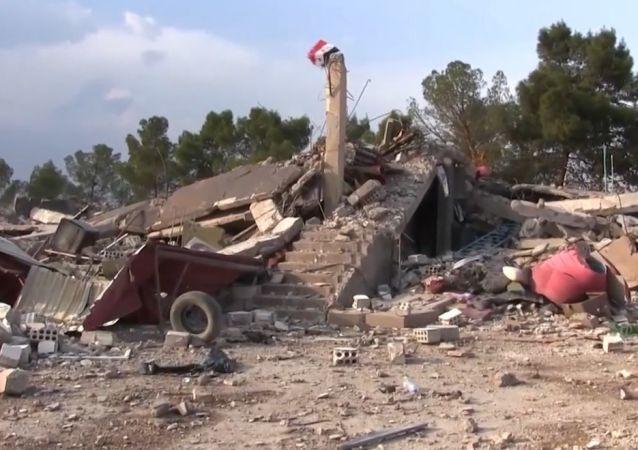 El Ejército sirio entra en la base abandonada por EEUU
