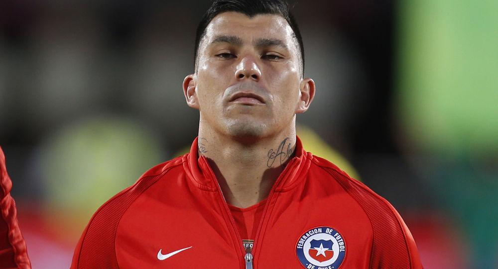 Gary Medel, capitán de la selección de fútbol de Chile