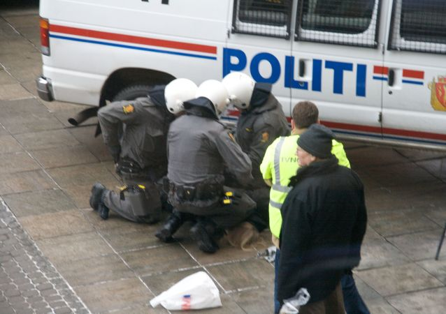Policía en Noruega