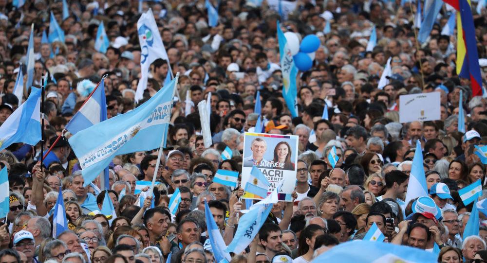 La campaña electoral en Argentina