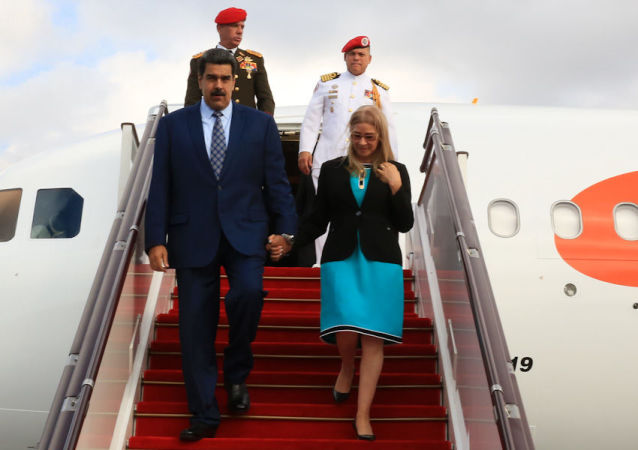 Presidente de Venezuela, Nicolás Maduro, arriba a Bakú