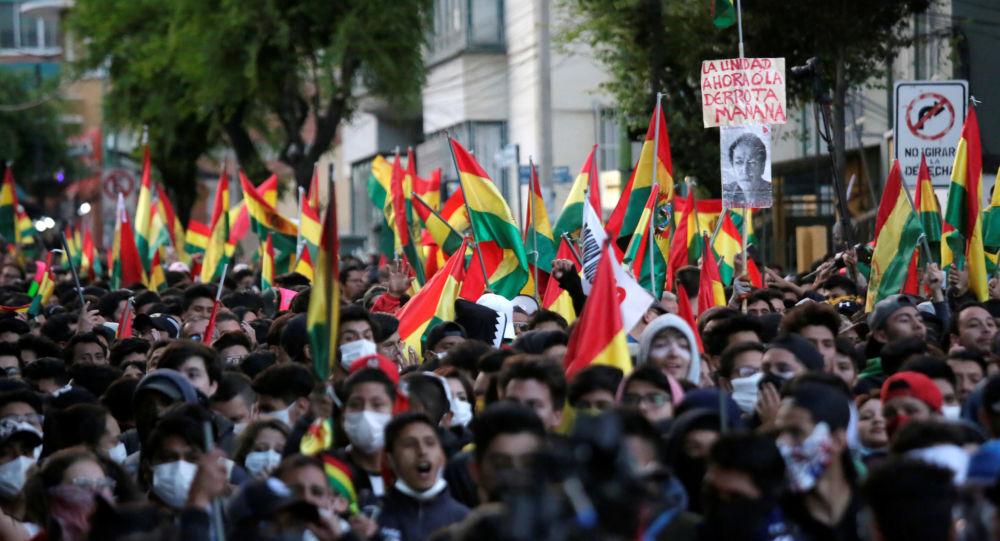 Las protestas contra la reelección de Evo Morales en Bolivia