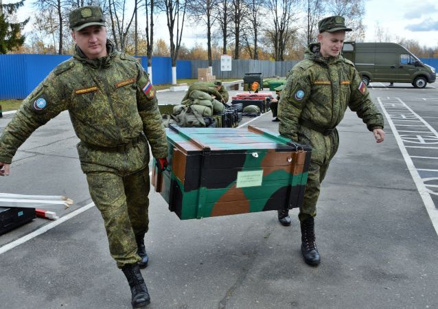 Los zapadores rusos se están preparando para ser enviados a Laos