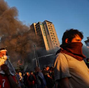 Protestas en Santiago, Chile