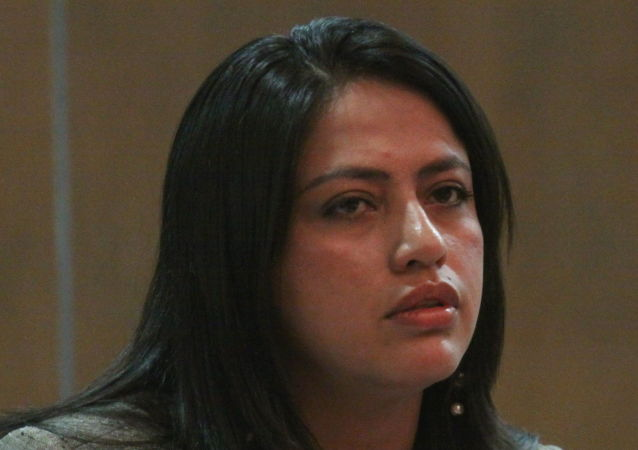 Paola Pabón, prefecta de Pichincha