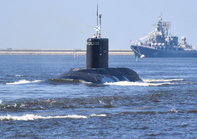 Un submarino ruso