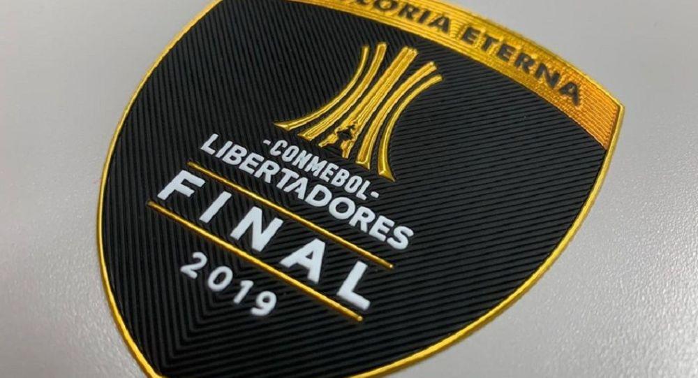 El parche oficial de la final de la Copa Libertadores de América 2019