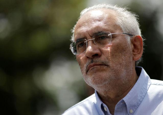 Carlos Mesa, excandidato opositor boliviano